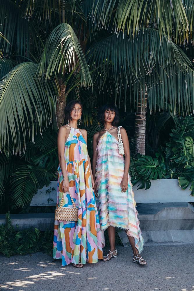 Cult Gaia Lucinda Dress - Hibiscus Multi (PREORDER)                                                                                               $628.00