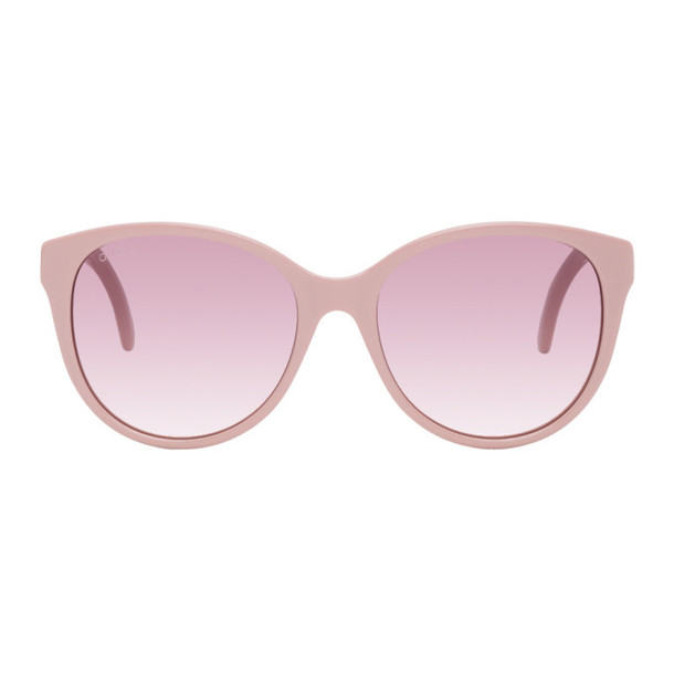Gucci Pink Cat-Eye Sunglasses