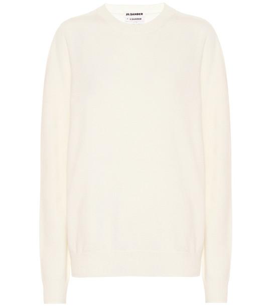 Jil Sander Cashmere sweater in beige
