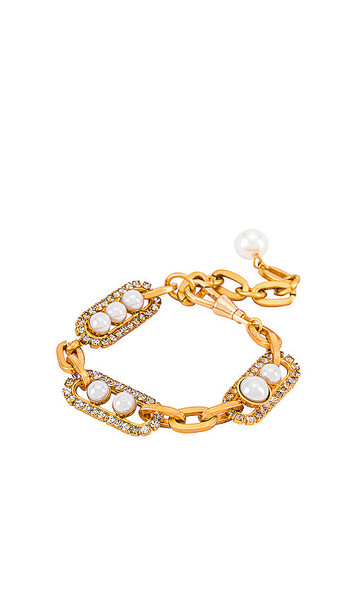 Elizabeth Cole Adalee Bracelet in Metallic Gold