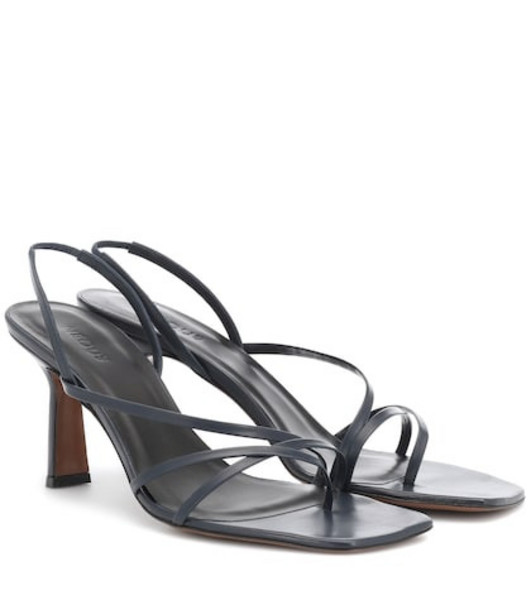 Neous Exclusive to Mytheresa – Esmeralda leather sandals in blue
