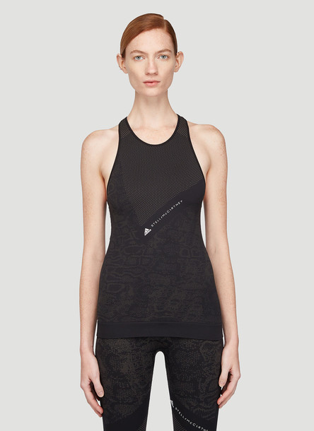 adidas by Stella McCartney Essential Tank Top in Black size XS