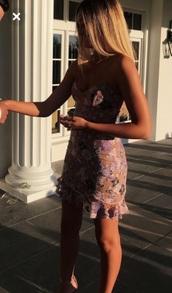 dress,floral dress,pink dress,gorgeous dress