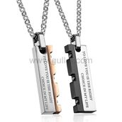 jewels,gullei.com,gullei,couple necklaces,his and hers necklaces,matching jewelry,gift for him and her,couple gifts,valentines gifts for him,anniversary necklaces for boyfriend,engraved necklaces,bff necklaces,friendship necklaces,christmas gift for couples