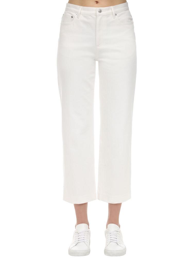 A.P.C. Cotton Denim Sailor Jeans in ivory