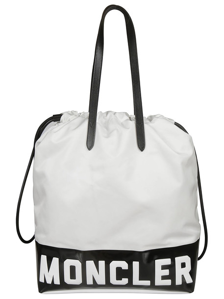 Moncler Flamenne Shopper Bag in white