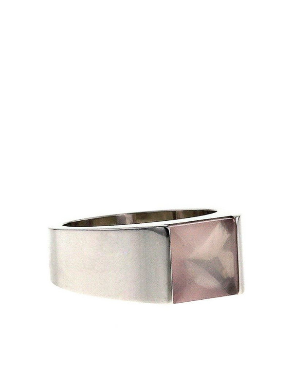 Cartier 2000s pre-owned 18kt white gold Tank medium ring