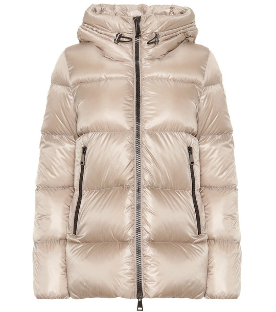 Moncler Seritte down jacket in grey