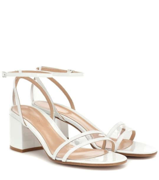 Gianvito Rossi Exclusive to Mytheresa – Sheryl 60 patent leather sandals in white