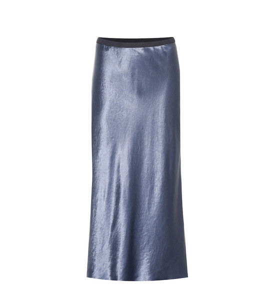 Max Mara Leisure ِAlessio midi skirt in blue