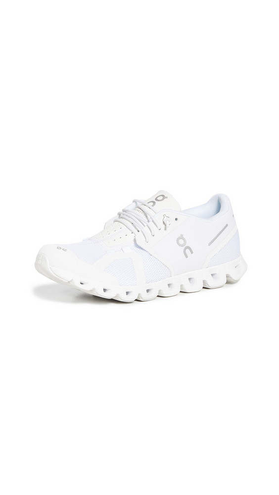 On Cloud Sneakers in white