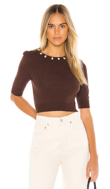Tularosa Marcel Sweater in Brown
