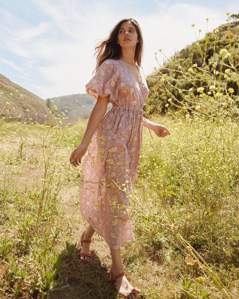 The Dahlia Dress   Blush Thistle (PRE-ORDER)