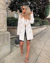blazer,beige blazer,jacket