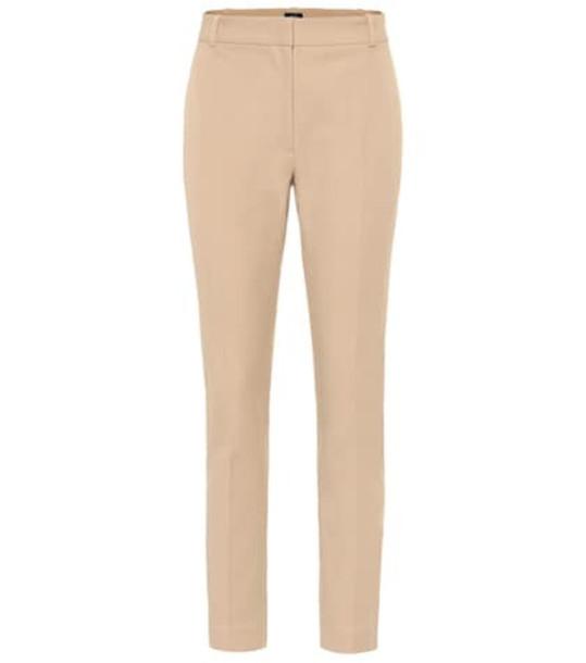 Joseph Zoom stretch gabardine pants in beige