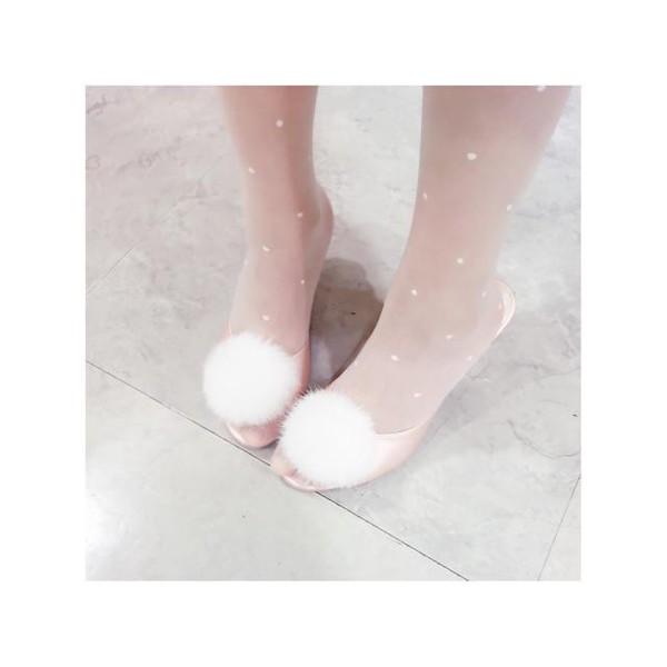 shoes pink shoes pale pink shoes pastel pink pastel pink shoes light pink light pink shoes pom pom shoes low heel shoes pink satin shoes pink satin heels pink shoes cute cute pastel pink shoes