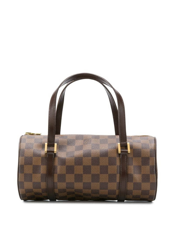 Louis Vuitton 2005 pre-owned Mall Papillon barrel bag in brown
