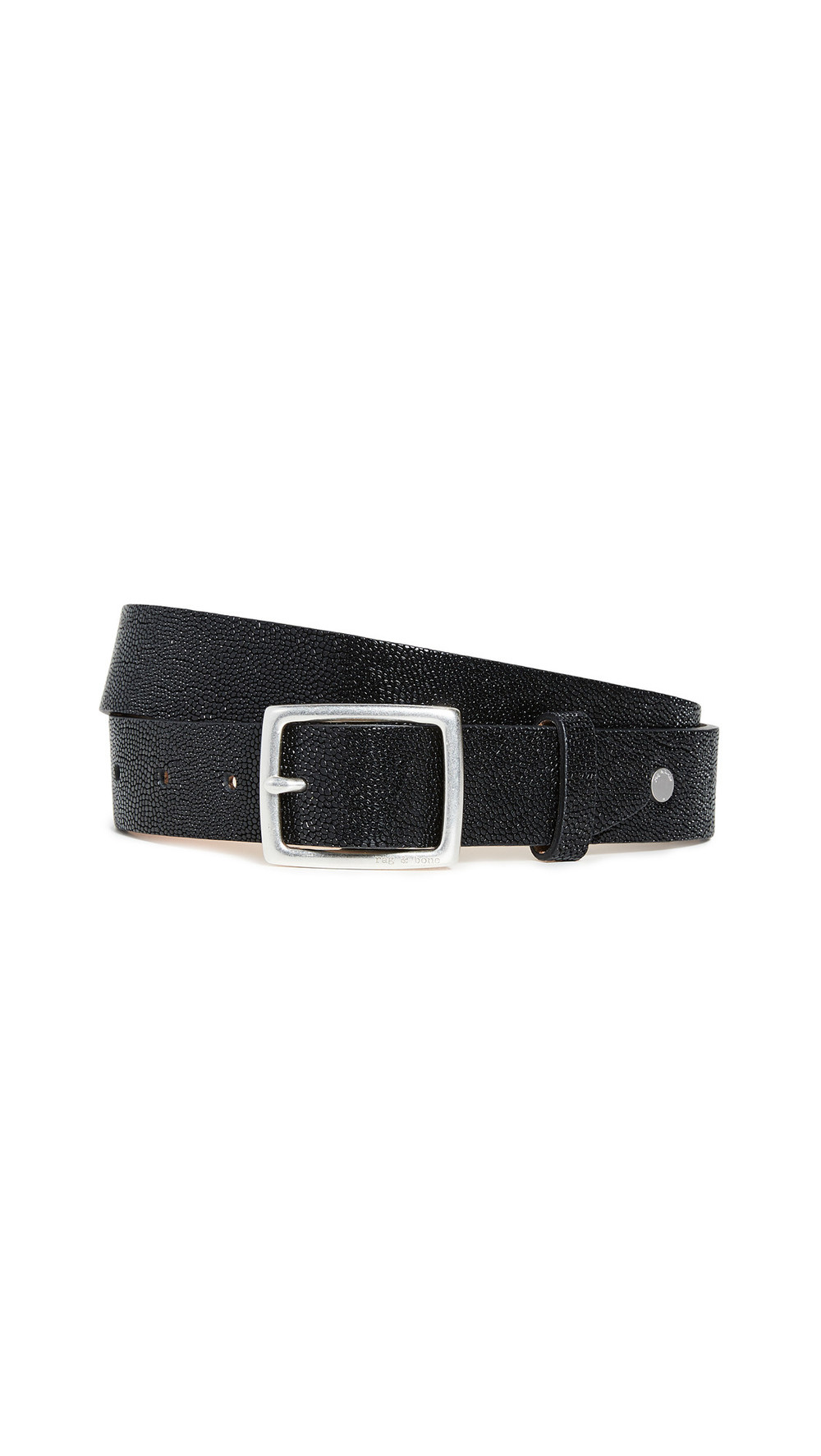 Rag & Bone Boyfriend Belt in black