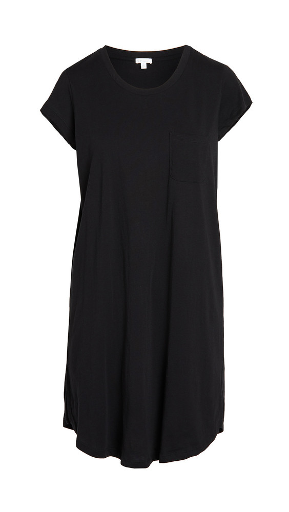 Skin Carissa Sleep Shirt in black