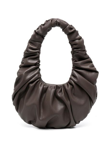 Nanushka Anja calf leather bag - Brown