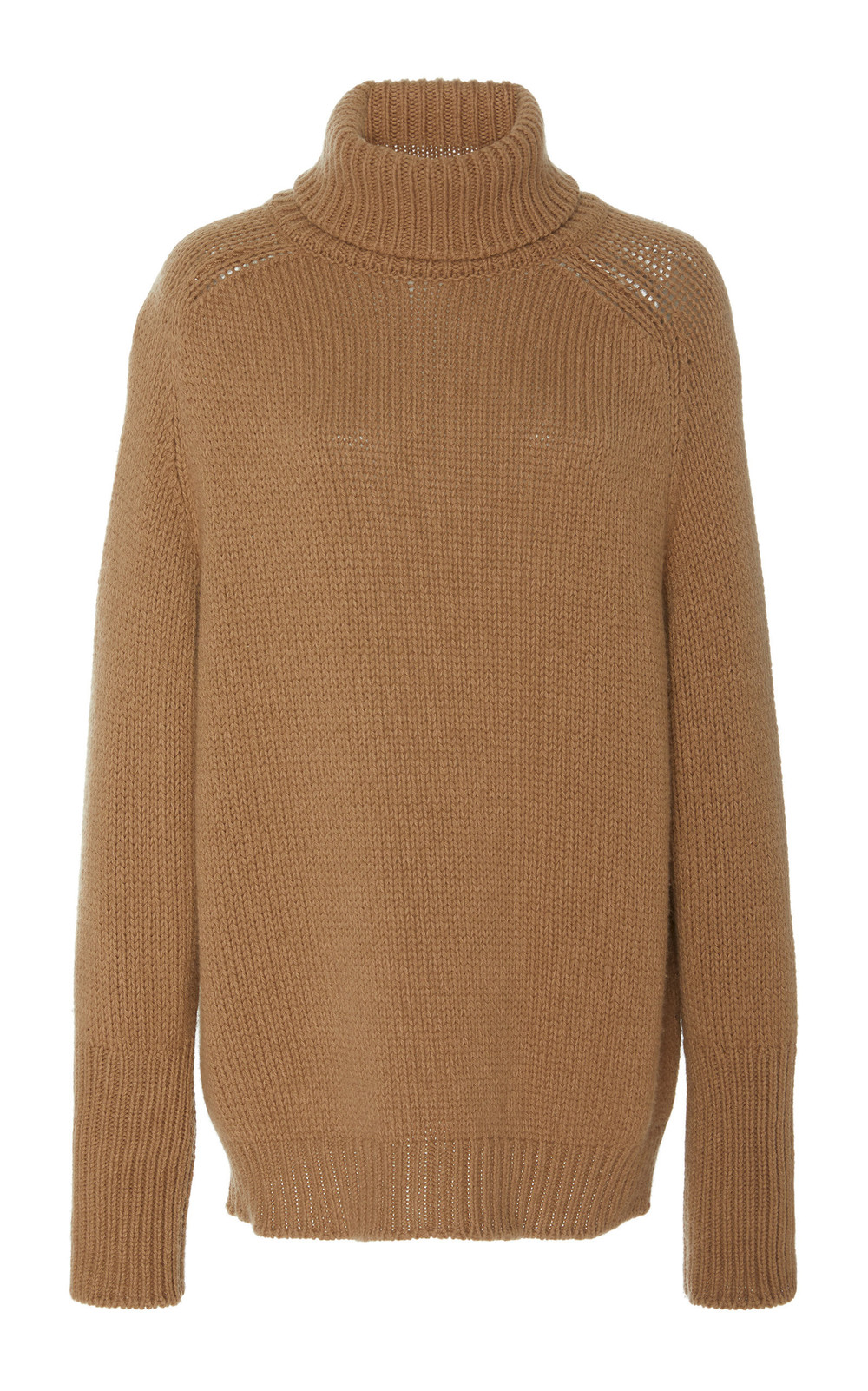 Ralph Lauren Cashmere and Silk-Blend Turtleneck Sweater in neutral