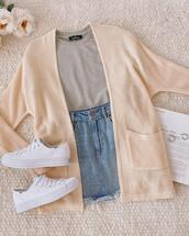 skirt,shoes,top,sweater