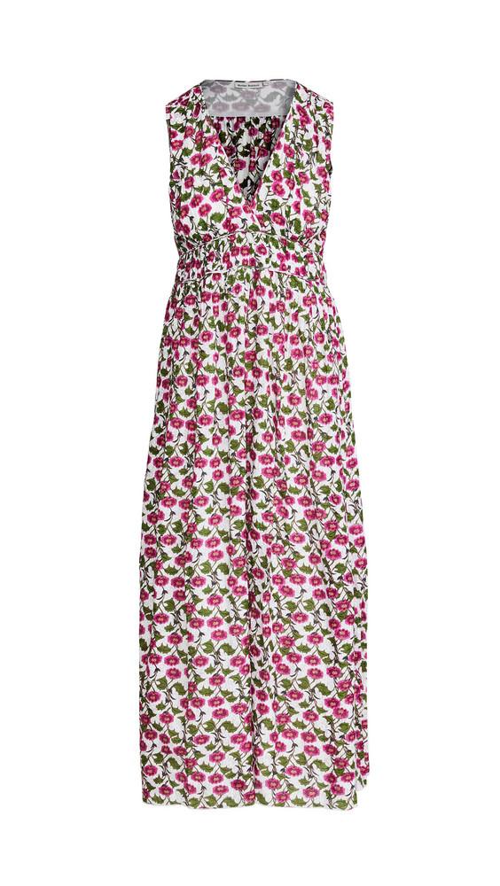 Roller Rabbit Dakini Floral Lune Dress in ivory