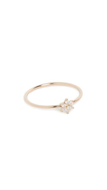 Zoe Chicco 14k Gold Tiny Prong Set Ring
