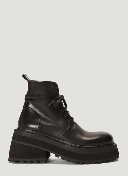 Marsell Capretta Anfibio Shoes in Black size EU - 36