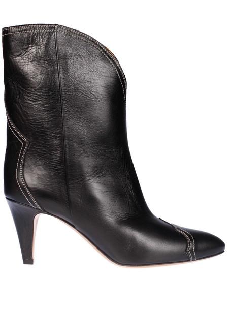 Isabel Marant Shiny Cuts Boots in black