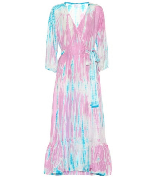 Anna Kosturova Exclusive to Mytheresa – Tie-dye silk midi dress