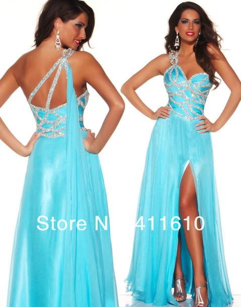 dress one shoulder dress evening dress beaded dress