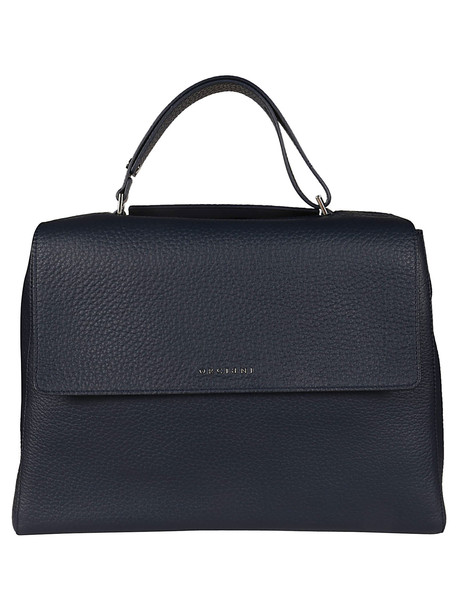 Orciani Large Classic Tote in navy