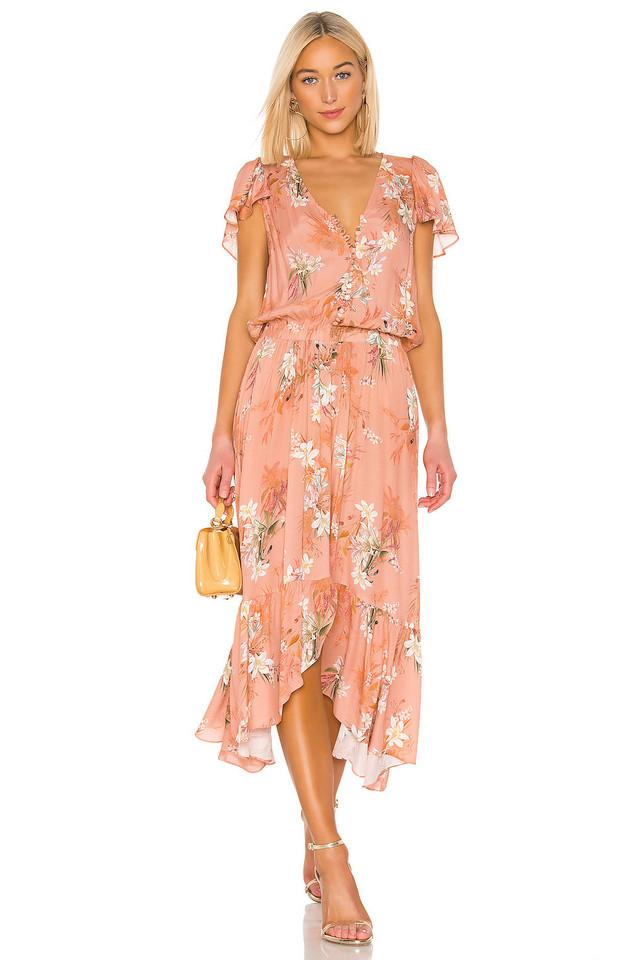 RAVN Nikki Dress in pink