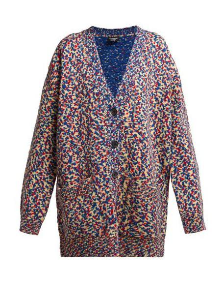 Calvin Klein 205w39nyc - Oversized Space Dye Cardigan - Womens - Ivory Multi