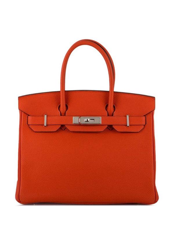 Hermès 2016 pre-owned Birkin tote bag in orange