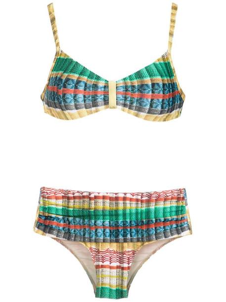 Lygia & Nanny Anne printed bikini set in yellow