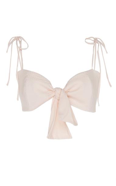 Johanna Ortiz Celebrity Eclipse Tie-Front Bikini Top Size: 4