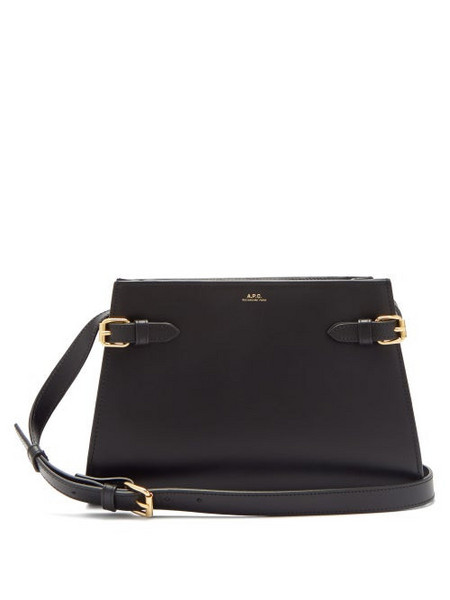 A.P.C. A.p.c. - Charlotte Smooth Leather Cross Body Bag - Womens - Black