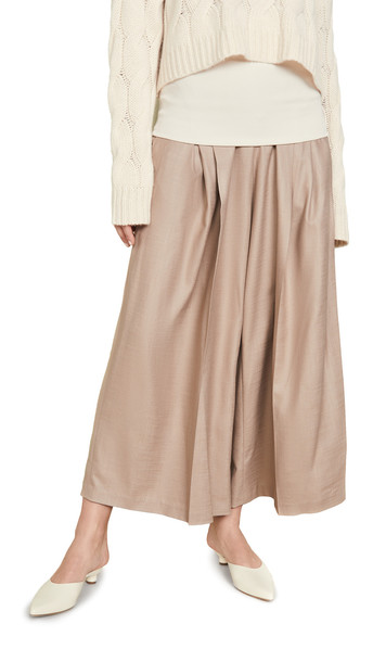 Adeam Convertible Bandeau Pants in sand