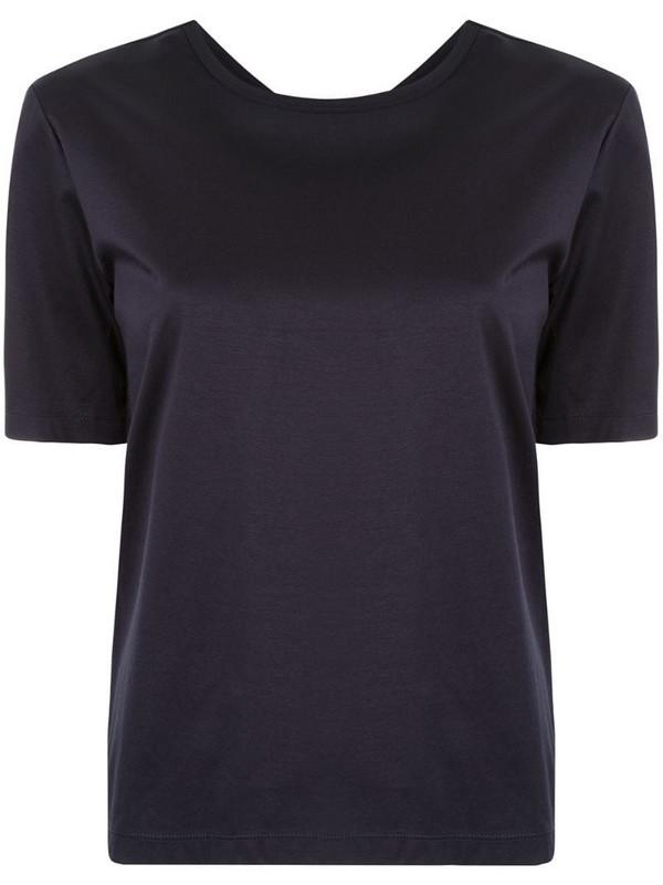 Dion Lee loop knot T-shirt in black