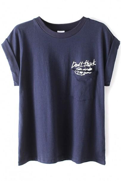 t-shirt blue t-shirt