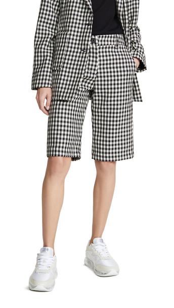 ei8htdreams Milano Bermuda Shorts in black / white