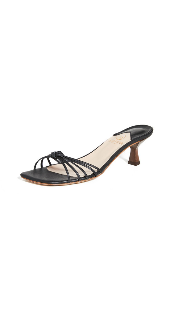 Brother Vellies Luci Sandals in midnight
