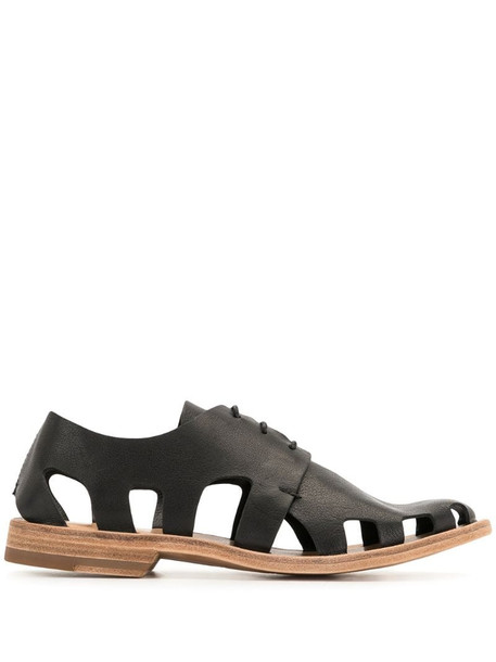 Officine Creative Graphite lace-up shoes in black