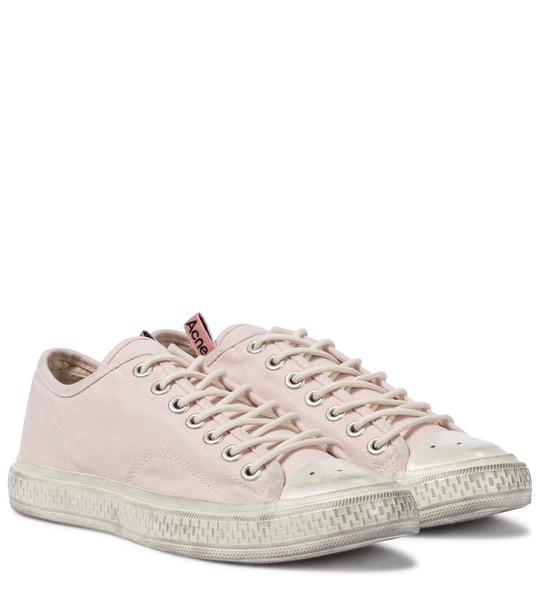 Acne Studios Canvas sneakers in pink