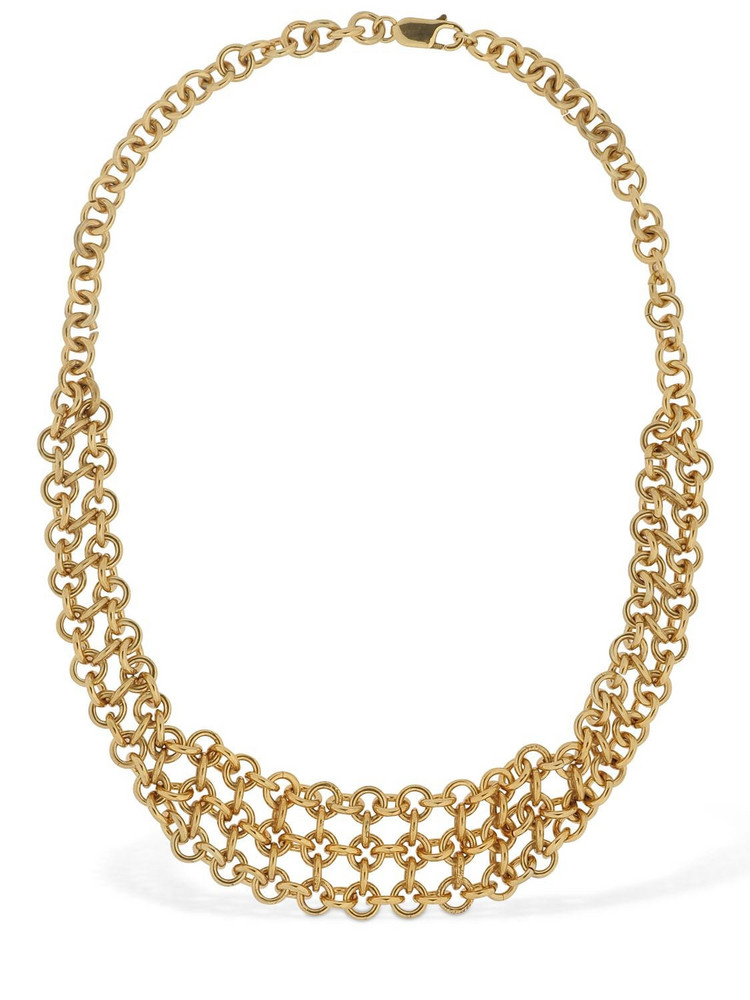 MAGDA BUTRYM Rodcol Chained Short Necklace in gold