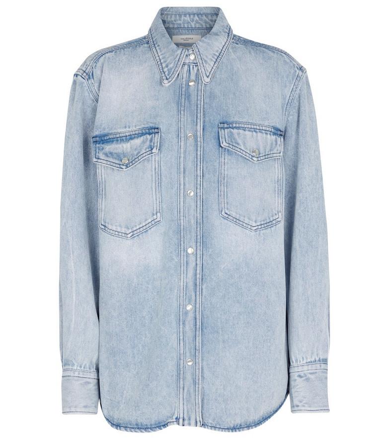 Isabel Marant, Étoile Tahis denim shirt in blue