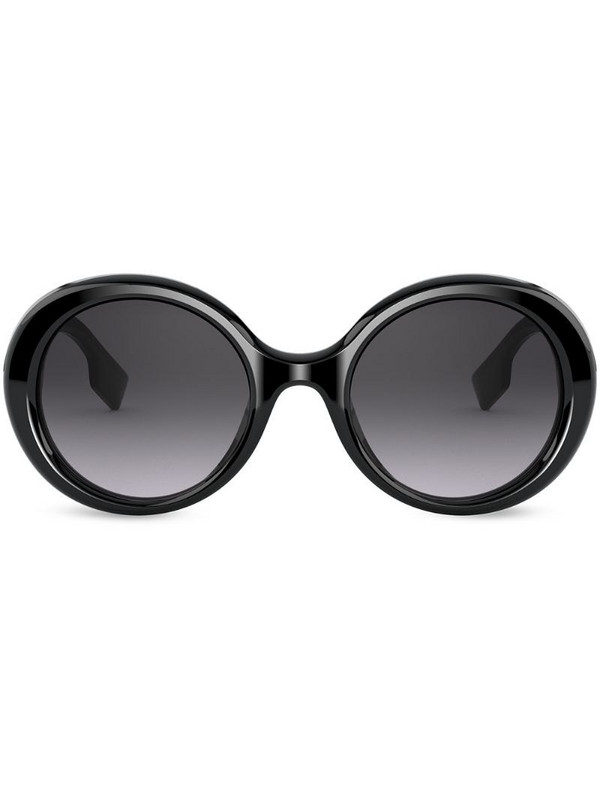 Burberry Eyewear gradient round-frame sunglasses in black