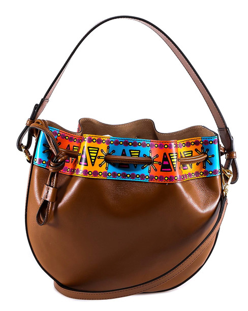 Etro Bubble Shoulder Bag in brown